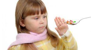 Детям запрещается давать наркотические противокашлевые средства