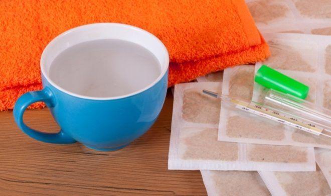 Горчичники для лечения кашля