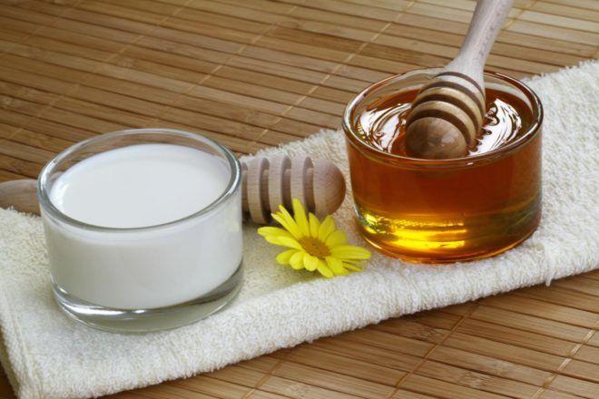 Молоко с медом для лечения кашля