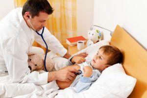 После перенесения пневмонии ребёнок наблюдается в стационаре