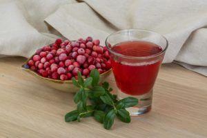 Сироп из ягод брусники для лечения бронхита