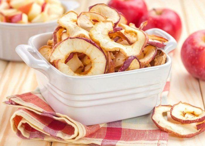 Сушеное яблоки