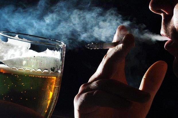 Алкоголь и сигареты запрещены во время освоения упражнений для органов дыхания
