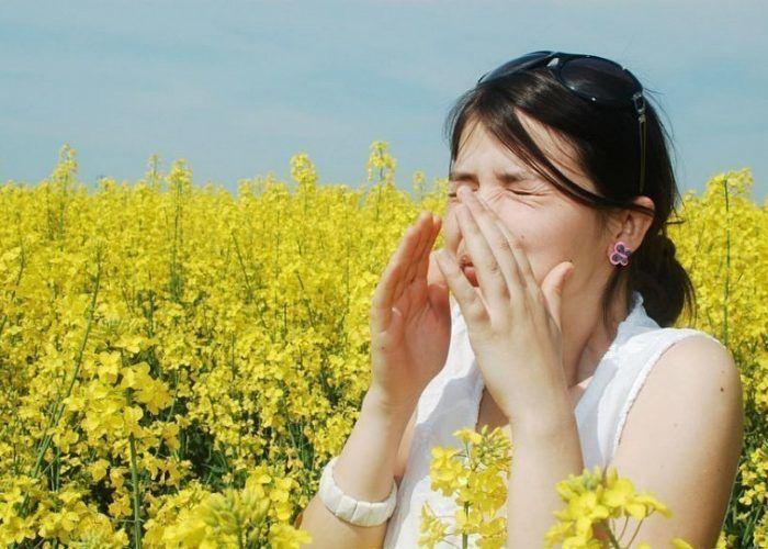 Аллергия на растение