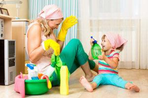 Для профилактики бронхита стоит проводить влажную уборку каждые 3 дня