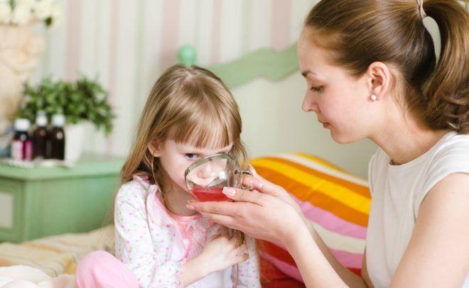 Калина от кашля - рецепты для детей