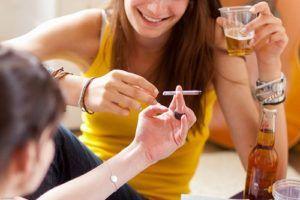 Курение и злоупотребление алкоголем развивают воспалительные процессы в легких