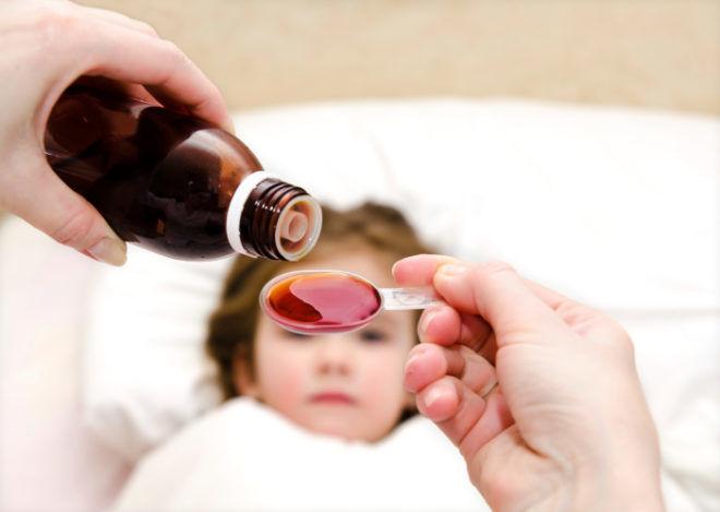 Лучше всего лечить малышей сиропом из чабреца
