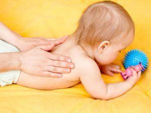 Массаж для грудничков при влажном кашле