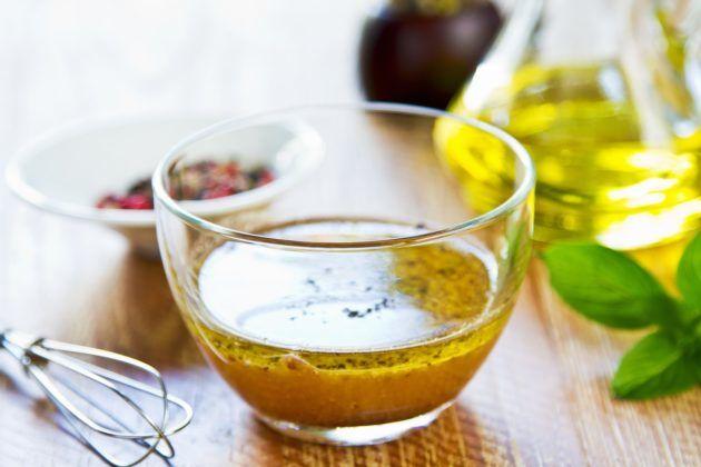 Мед с маслом и спиртом