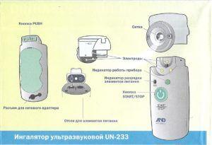 Мобильность ингалятора AND UN-233