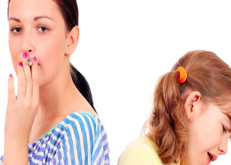 Ограждать ребенка от пассивного курения