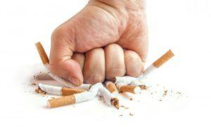 Отказ от курения для профилактики бронхита