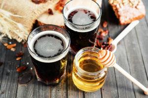 Пиво с медом от кашля