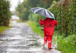 При бронхите нельзя гулять в дождливую и ветреную погоду
