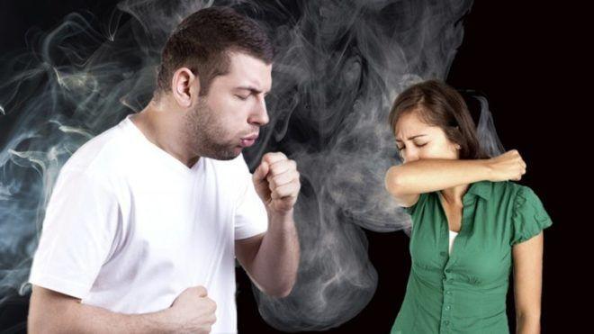 Сильный кашлевой синдром