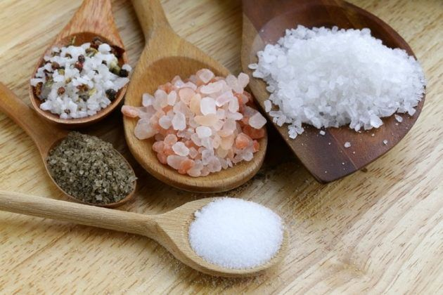 Сода с морской солью