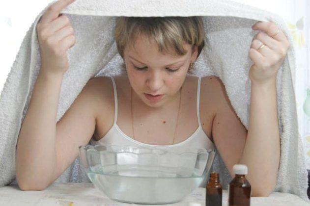 Содовые ингаляции при кашле очищают дыхательные пути