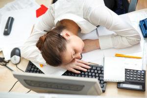 Сонливость является признаком передозировки