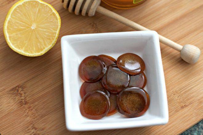 Жженый сахар с лимонном