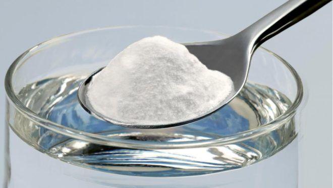 Приготовления раствора из соды