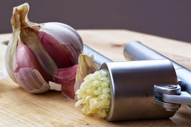 Рецепт содовых ингаляцийс чесноком