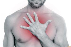 Болевые ощущения в груди