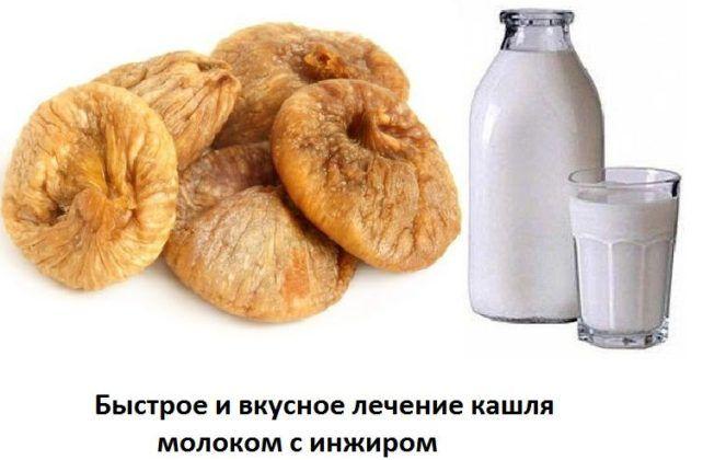 Быстрый способ приготовления инжира для лечения кашля