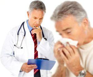 Если кашель носит аллергический характер то терапию назначает врач-аллерголог