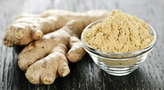 «Горчичники» из молотых корней имбиря