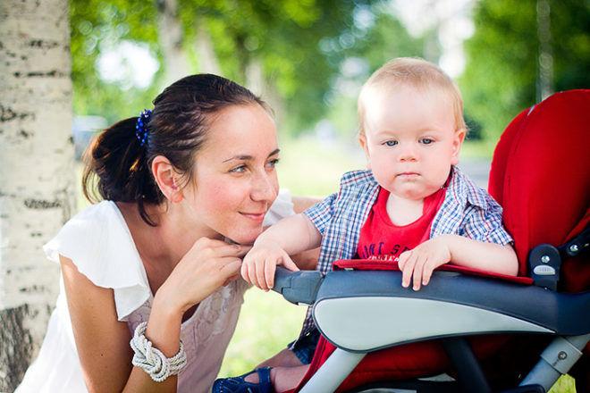 Гулять с ребенком при кашле