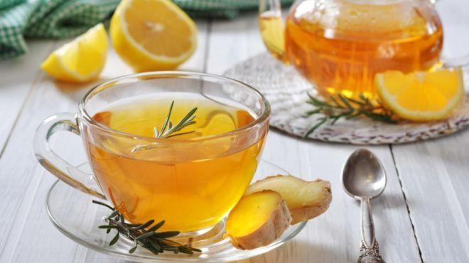 Имбирный чай для лечения кашля