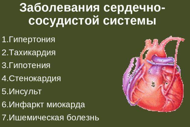Ингалятор запрещен при патологиях сердечно-сосудистой системы