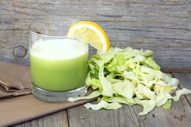 Капустный сок угнетает бактерии