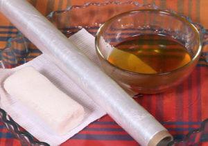Картофельный компресс с добавление водки и масла