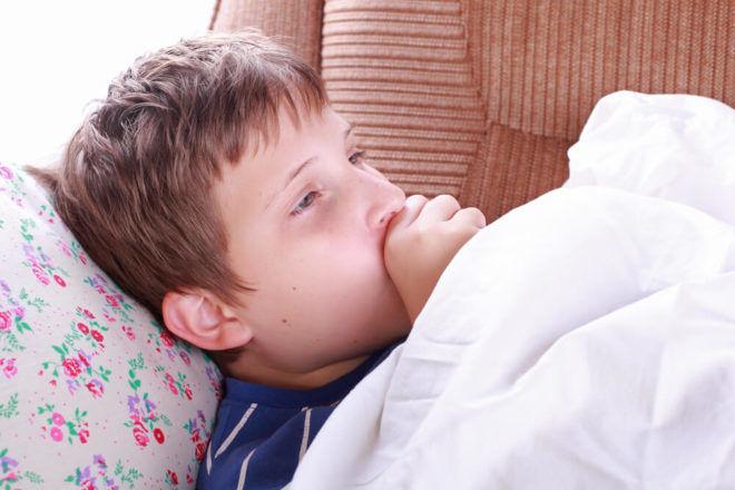 Кашель с температурой у ребенка