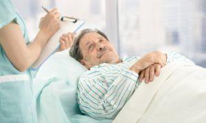 Лечение пневмонии проходит в стационаре