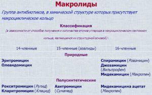 Макролиды для лечения пневмонии при раке легких