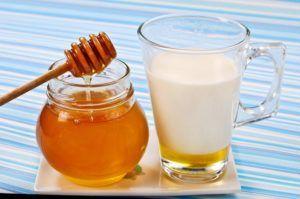 Молоко с медом для лечения кашля при простуде