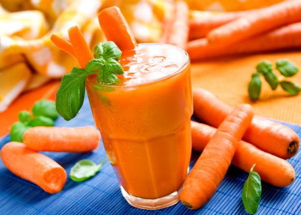 Морковный сок с медом для лечения бронхита