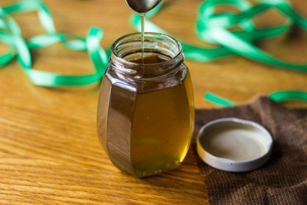 Мятный сироп для лечения кашля
