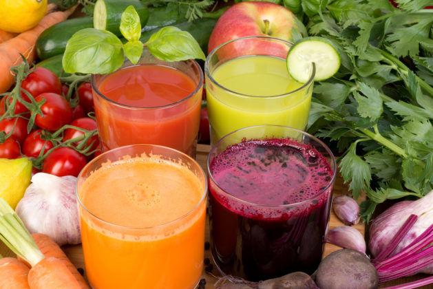 Настойка из соков овощей