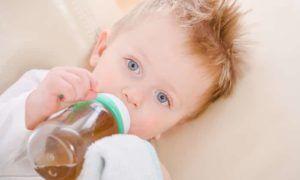 Обеспечить ребенка обильным питьем для быстрейшего выздоровления
