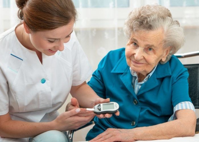 Пациентам с сахарным диабетом