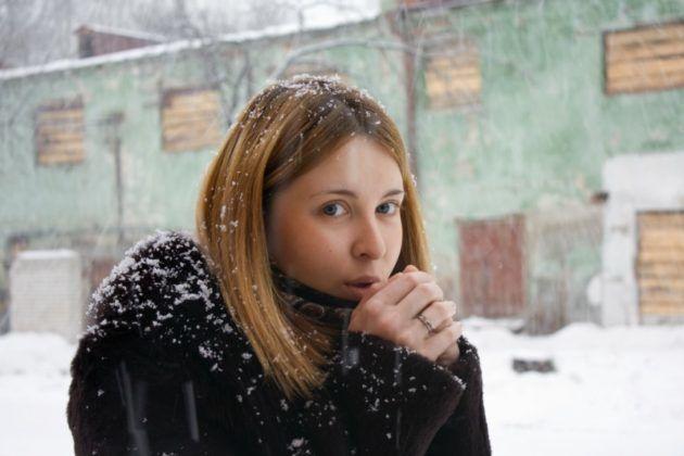 Лающий кашель может возникнуть при переохлаждении