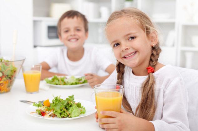 Правильное питание ребенка для профилактики кашля