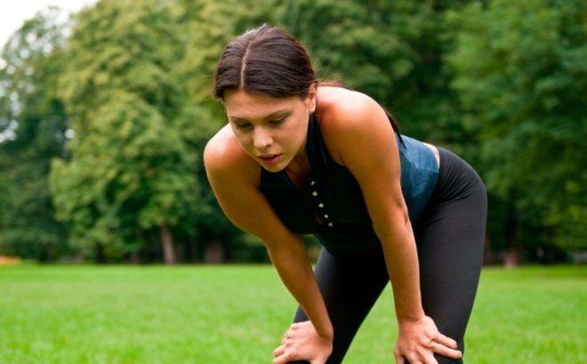 При бронхите отдышка происходит только после физической нагрузки