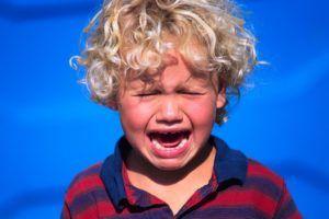 При длительном плаче могут возникнуть хрипы