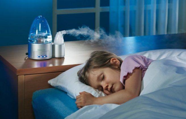 При трахеите важно увлажнять воздух в помещении