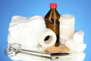 Приготовления компресса для лечения кашля